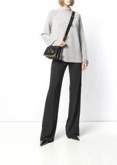 Prada side button trousers