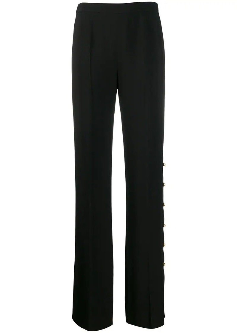 Prada side button trousers
