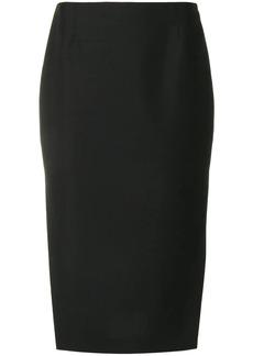 Prada side slit skirt