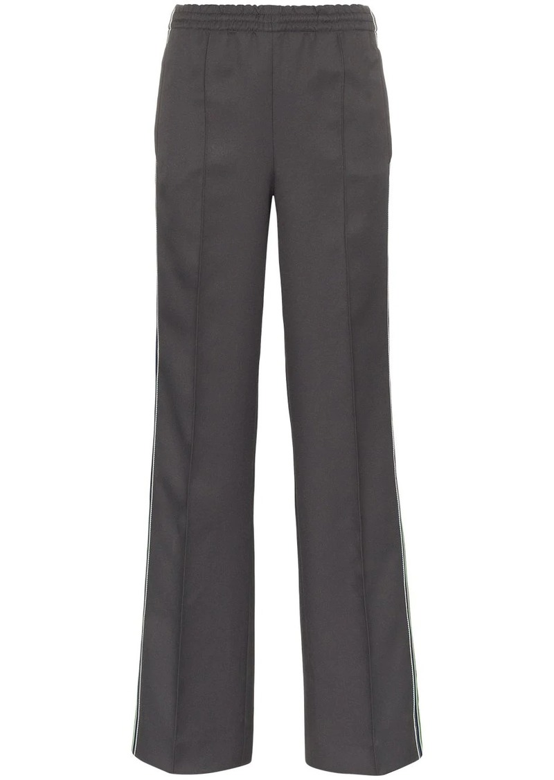 Prada side-stripe logo track pants