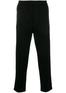 Prada side stripe slim trousers