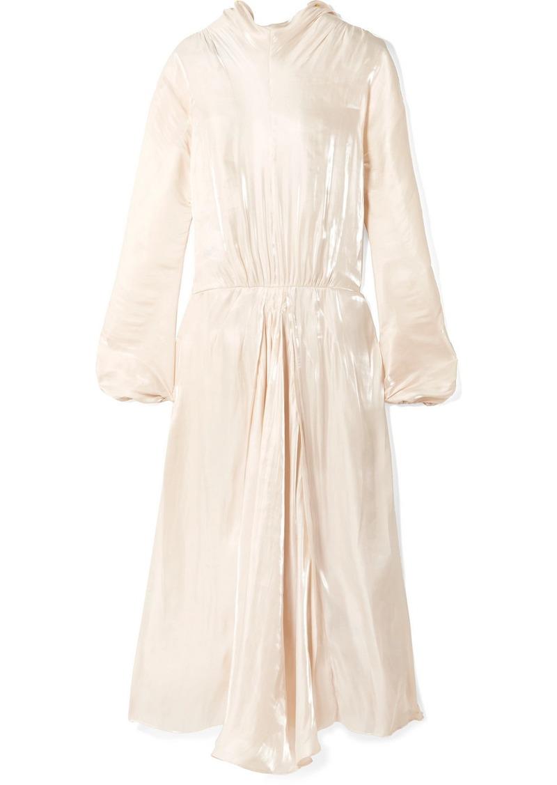 Prada Silk-charmeuse Gown