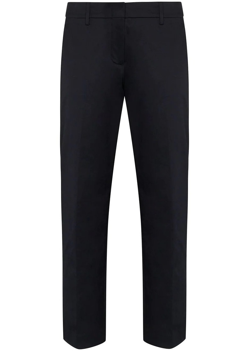 Prada cropped slim-leg trousers