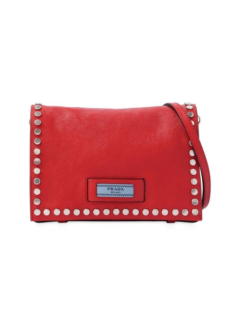 d6a5c937859c Prada Small Etiquette Studded Shoulder Bag | Handbags