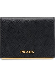 Prada small logo wallet