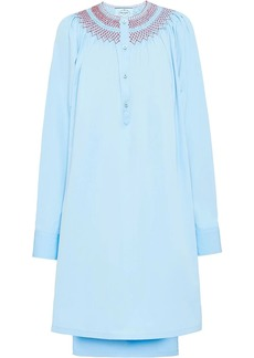 Prada smock poplin dress