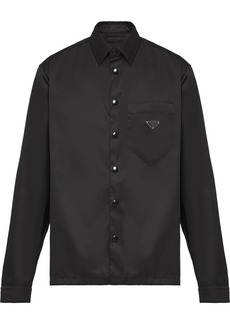 Prada snap button-up shirt