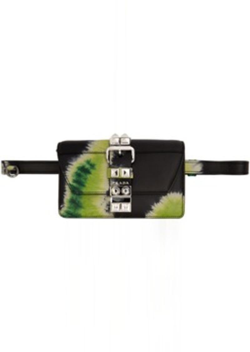 SSENSE Exclusive Black Tie-Dye Elektra Bag