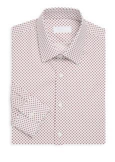 Prada Star-Print Cotton Dress Shirt