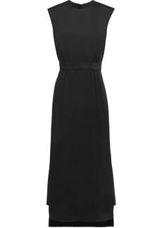 Prada step-hem sleeveless midi-dress