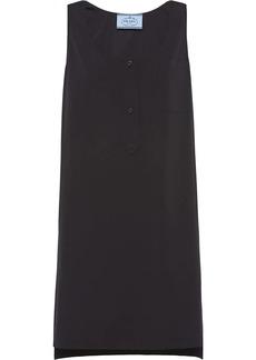 Prada stepped-hem tank dress