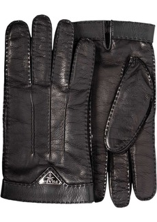 Prada stitch detail gloves