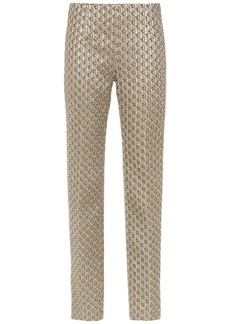 Prada Stretch cloqué trousers