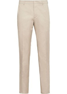 Prada stretch cotton twill trousers
