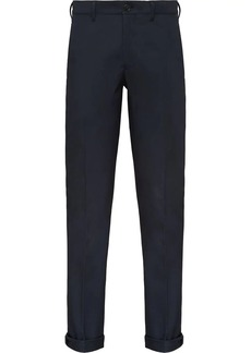 Prada stretch gabardine trousers