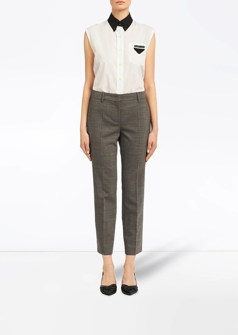 Prada Stretch wool trousers
