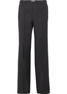Prada Striped Gabardine Track Pants
