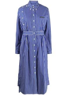Prada striped shirt dress