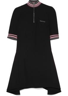 Prada Striped Twill Mini Dress