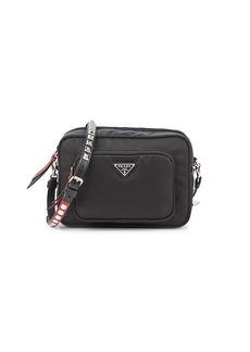 Prada Studded & Leather-Trim Camera Bag