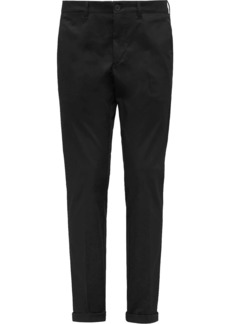 Prada tailored gabardine trousers