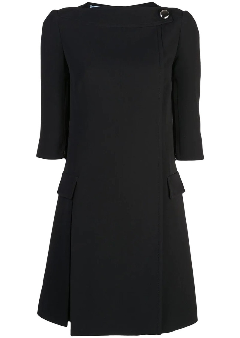 Prada tailored shift dress