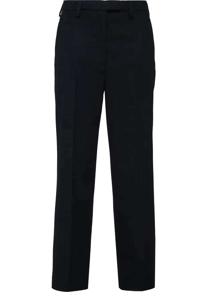 Prada tailored straight-leg trousers