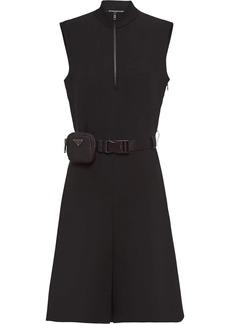 Prada technical broadcloth dress
