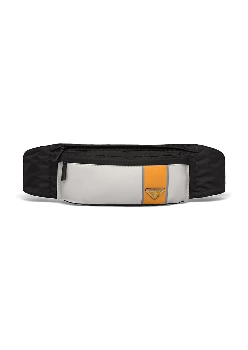 Prada technical fabric belt bag