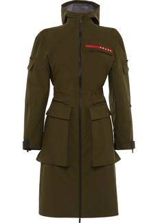 Prada Linea Rossa technical military jacket