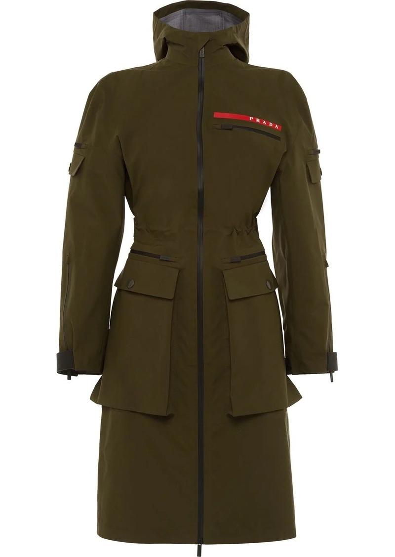 Prada Linea Rossa technical military jacket