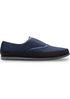 Prada Technical fabric slip-on shoes