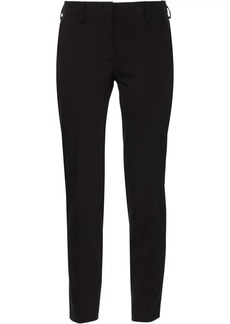 Prada Technical fabric trousers