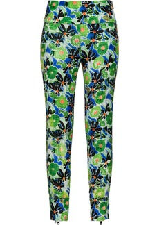 Prada Technical floral trousers