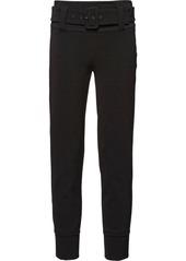 Prada technical gabardine trousers