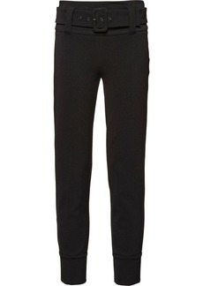 Prada technical gabardine trousers