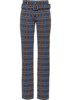 Prada technical jacquard trousers