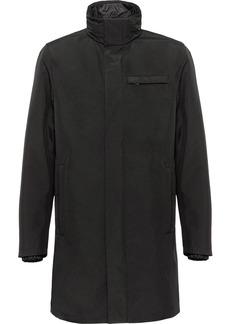 Prada technical poplin raincoat
