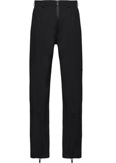 Prada technical straight trousers
