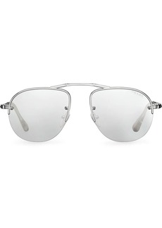 Prada Teddy foldable aviator sunglasses