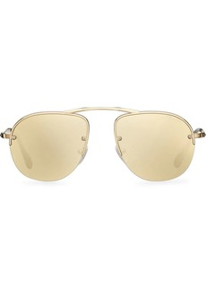 Prada Teddy foldable aviator sunglasses