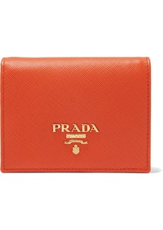 Prada Textured-leather Wallet
