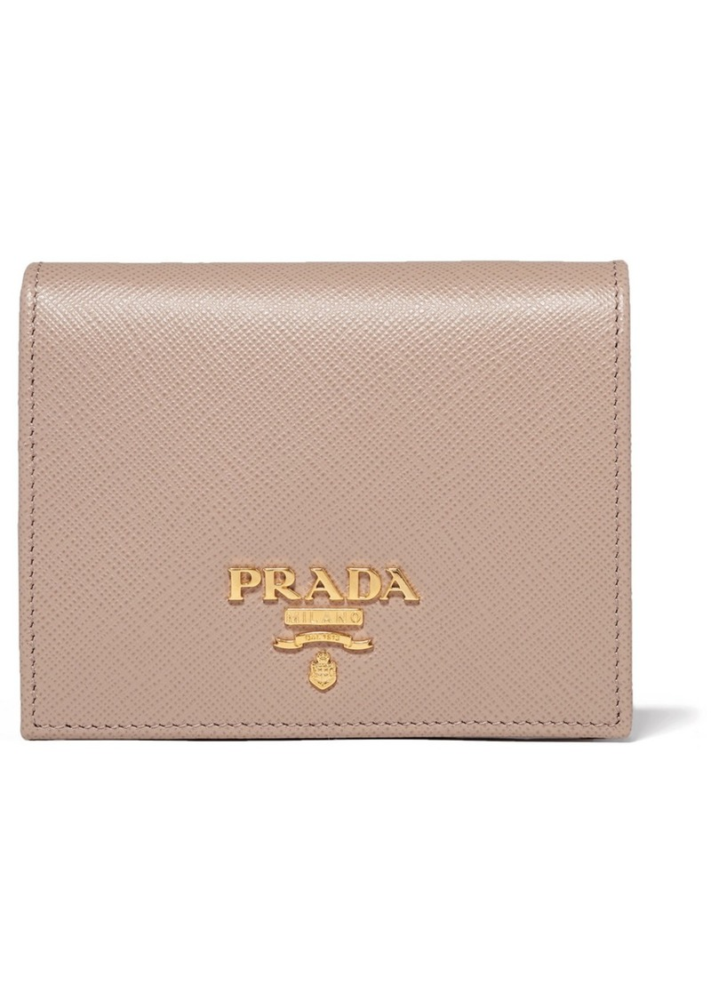 1ab9530ffe20b Prada Textured-leather Wallet