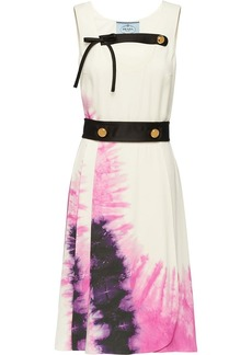 Prada tie-dye print dress