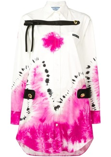 Prada tie-dye shirt dress