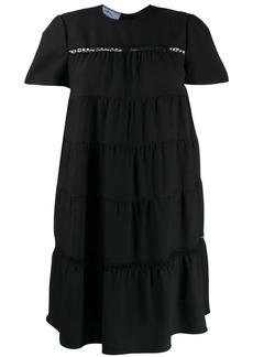 Prada tiered shift dress