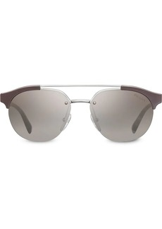 Prada top bar round sunglasses