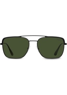 Prada top bar square sunglasses