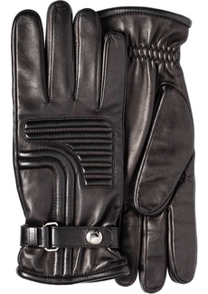 Prada top stitch detail gloves