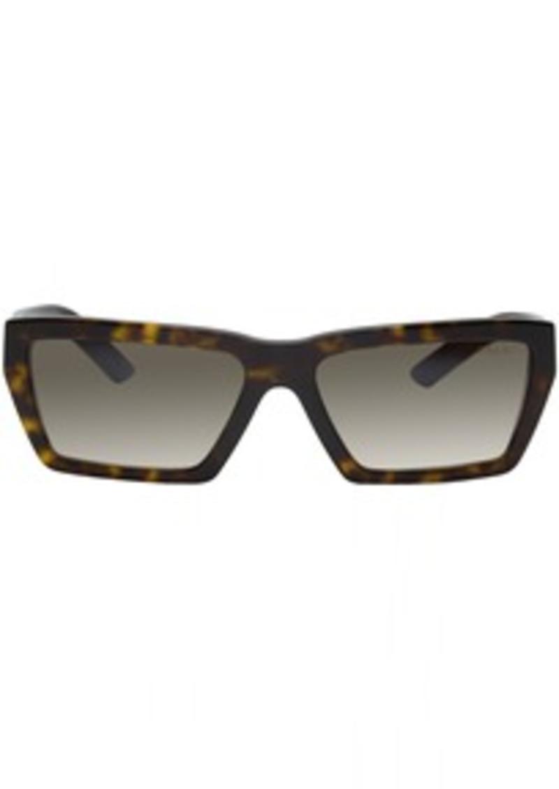 Prada Tortoiseshell Rectangular Sunglasses